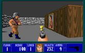 Wolfenstein 3D for IBM PC/Compatibles - An enemy surprised me!