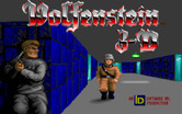 Wolfenstein 3D for IBM PC/Compatibles - Title screen.
