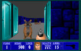 Wolfenstein 3D for IBM PC/Compatibles - Attack dog!