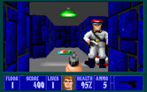 Wolfenstein 3D for IBM PC/Compatibles - A powerful enemy hiding in the maze...