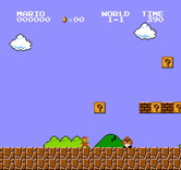 Super Mario Bros. for NES / Famicom - Here's the first opponent you'll encounter...