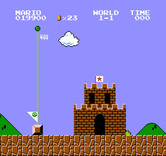 Super Mario Bros. for NES / Famicom - Stage completed!
