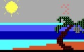 Animation Creation for IBM PC/Compatibles screenshot thumbnail - Sample animation - a sunny beach.