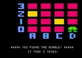 Bumble Games for Apple II screenshot thumbnail - I found the bumble!