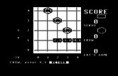 Bumble Games for Commodore 64 screenshot thumbnail - Tic Tac Toc is a game for two players.