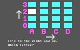 Bumble Games for IBM PC/Compatibles screenshot thumbnail - Clues are given to help you find Bumble.
