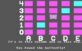 Bumble Games for IBM PC/Compatibles screenshot thumbnail - I found the butterfly!