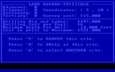 Oil Barons for IBM PC/Compatibles - Site overview; care to drill?