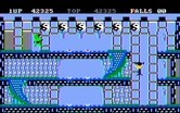 Bruce Lee for IBM PC/Compatibles screenshot thumbnail - Falling down...