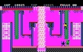 Bruce Lee for IBM PC/Compatibles screenshot thumbnail - Climbing down towards trouble...