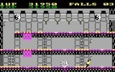 Bruce Lee for IBM PC/Compatibles screenshot thumbnail - With careful timing you can use traps to take out your opponents...
