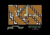 Gauntlet II for Commodore 64 - This level has a lot of doors...