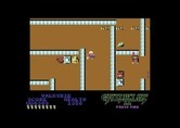 Gauntlet II for Commodore 64 - Some walls are invisible on this level...