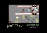 Gauntlet II for Commodore 64 - Force fields and stun tiles get in the way on level 2.
