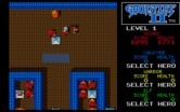 Gauntlet II for IBM PC/Compatibles - On this level the glowing tiles cause walls to disappear.