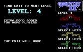 Gauntlet II for IBM PC/Compatibles - Ready to begin Level 4?