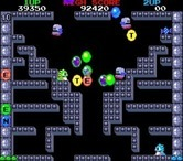 Bubble Bobble for Arcade - Collect letters for a bonus!