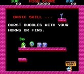 Bubble Bobble for Arcade - Game attract mode.
