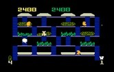 BurgerTime for Intellivision screenshot thumbnail - Start of the second level.
