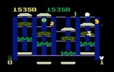 BurgerTime for Intellivision screenshot thumbnail - Pickles now start to chase you!