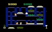 BurgerTime for Intellivision screenshot thumbnail - Oh no, I'm trapped!
