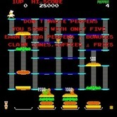 BurgerTime for Arcade screenshot thumbnail - Game instructions (Japanese version).
