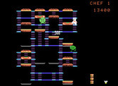 BurgerTime for ColecoVision - Earn points for crushing opponents...