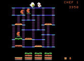 BurgerTime for ColecoVision - Run away!