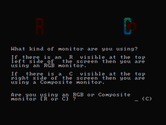 BurgerTime for IBM PC/Compatibles screenshot thumbnail - Are you using a composite or RGB monitor?
