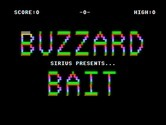Buzzard Bait for IBM PC/Compatibles screenshot thumbnail - Title screen.