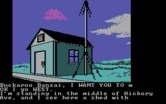 Adventures of Buckaroo Banzai: Across the Eighth Dimension, The for IBM PC/Compatibles screenshot thumbnail - I wonder what is inside this shed...