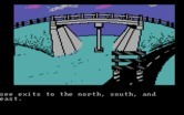 Adventures of Buckaroo Banzai: Across the Eighth Dimension, The for IBM PC/Compatibles screenshot thumbnail - A bridge; which way to go from here?