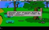 King's Quest III: To Heir is Human for IBM PC/Compatibles - Game over; time to restore a game!