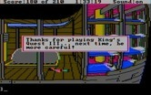 King's Quest III: To Heir is Human for IBM PC/Compatibles - Oops, don't accidentally fall to your death...
