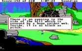 King's Quest III: To Heir is Human for IBM PC/Compatibles - This cave looks dangerous...