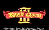 King's Quest III: To Heir is Human for IBM PC/Compatibles - Title screen.