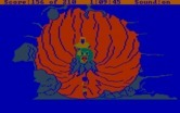 King's Quest III: To Heir is Human for IBM PC/Compatibles - Visiting the oracle, seeing a vision of a dragon...