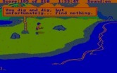 King's Quest III: To Heir is Human for IBM PC/Compatibles - Digging up treasure, but failed...