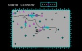 Dam Busters, The for IBM PC/Compatibles - Map view.