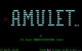 Amulet, The for IBM PC/Compatibles - Title screen