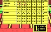 10th Frame for IBM PC/Compatibles screenshot thumbnail - Here are the scores so far.