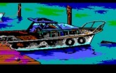 Manhunter 2: San Francisco for IBM PC/Compatibles - This boat isn't in good shape...better search it for clues.