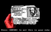 Manhunter 2: San Francisco for IBM PC/Compatibles - Found something...put this in your robe?