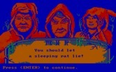 Manhunter 2: San Francisco for IBM PC/Compatibles - The game authors provide information after you die...