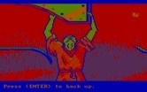 Manhunter 2: San Francisco for IBM PC/Compatibles - Careful when searching for clues, you don't want to end up dead like this guy.