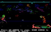Manhunter: New York for IBM PC/Compatibles - Arcade sequence; dodge things being thrown at you.