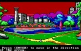 Manhunter: New York for IBM PC/Compatibles - A scenic lake...