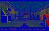 Manhunter: New York for IBM PC/Compatibles - Inside the bar.