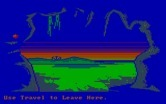 Manhunter: New York for IBM PC/Compatibles - There's an amusement park in the distance!