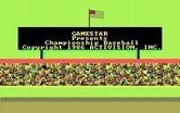 Championship Baseball for IBM PC/Compatibles - The national anthem plays...
